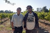 Dibesh and Ashish at Napa Vineyards