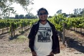 Ashish at Napa Vineyards