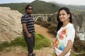 Ashish and Reji at Big Sur, CA
