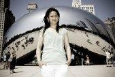 Reji Shrestha at Millenium Park in Chicago, IL
