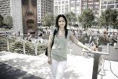 Reji Shrestha - water (fountain) at Millenium Park in Chicago, IL