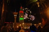 Fireworks at San Francisco, new year's eve 2011