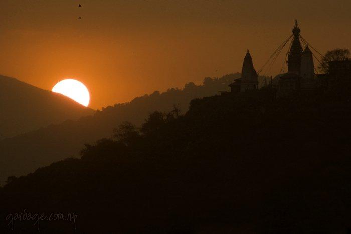 Sunset Kathmandu