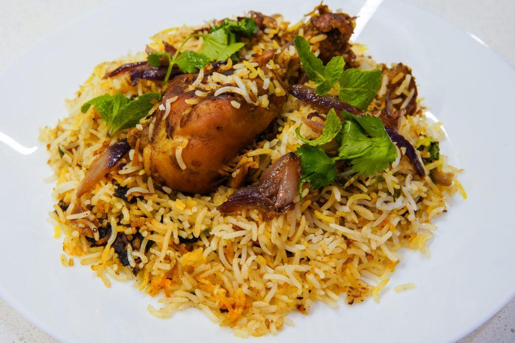 Chicken Biryani my wife made @rejcha